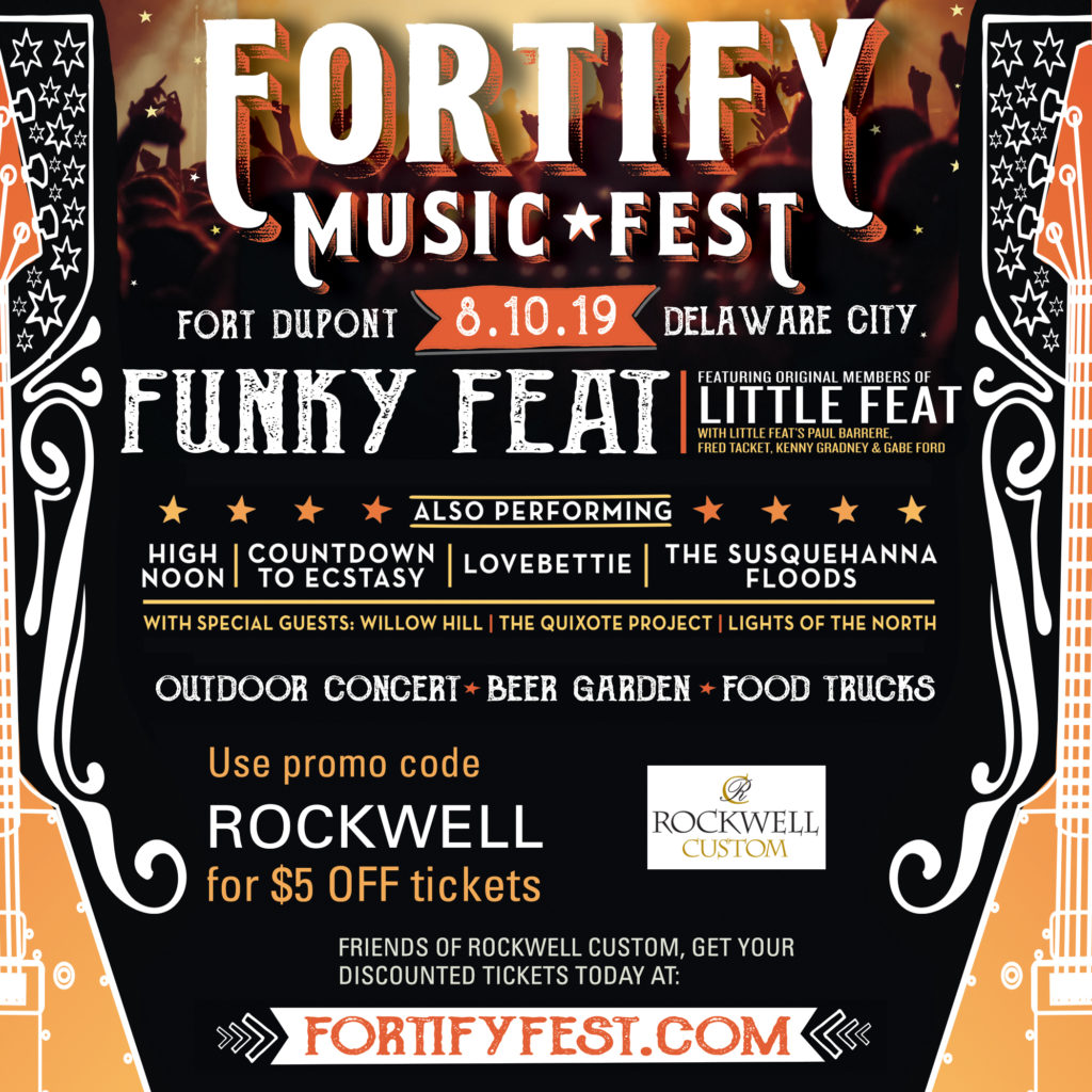 Fortify Music Fest Poster