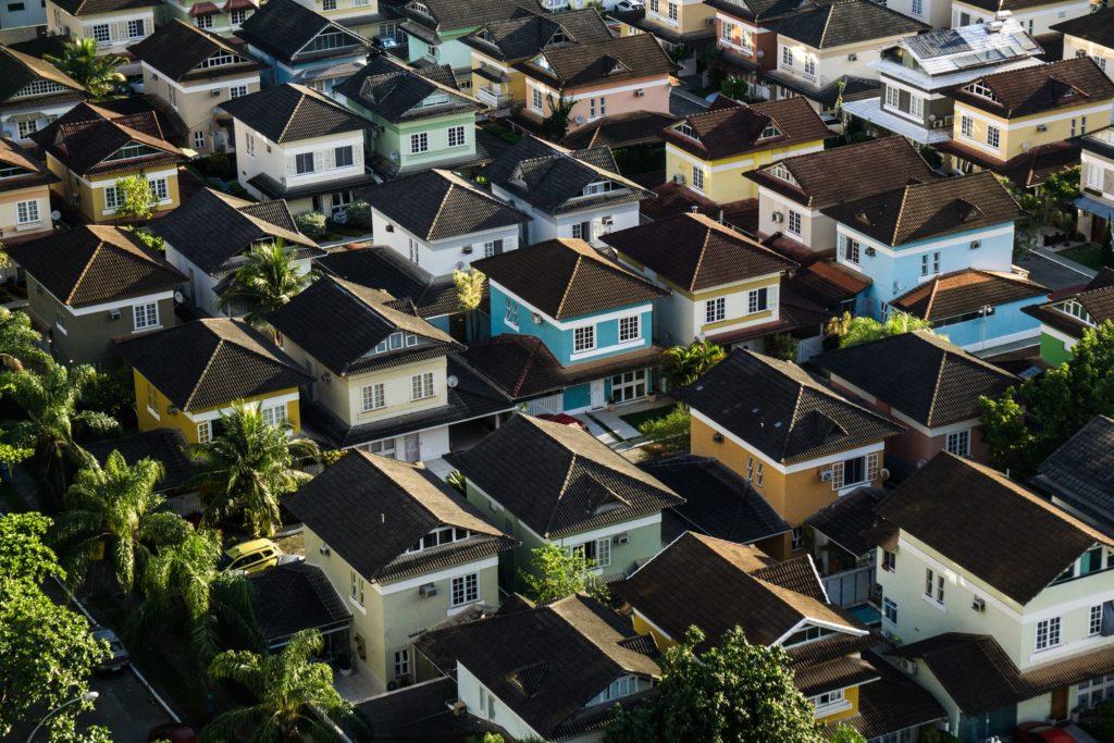 urban townhome community