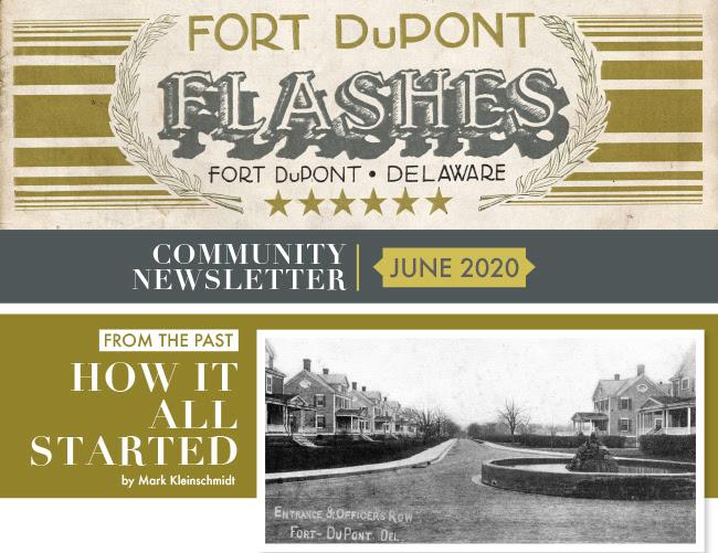 Fort DuPont Flashes community newsletter
