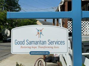 Good Samaritan Services sign