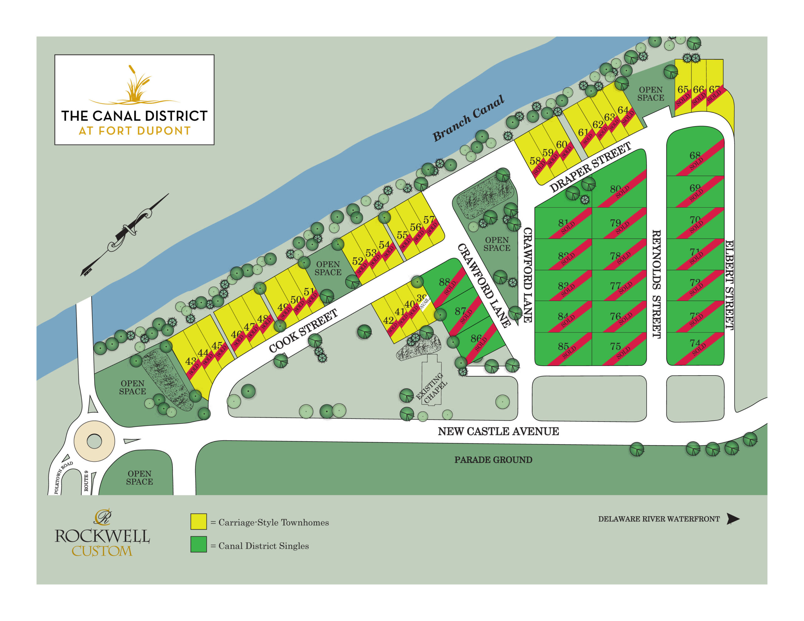 Canal Street at Dupont Site plan SOLDS_9.7.21 copy